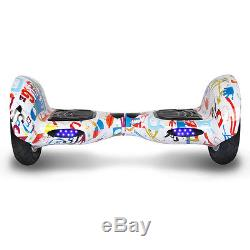 10Gyropode Skateboard scooter électrique Bluetooth Self Balance overboard sac