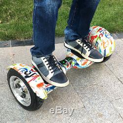 10'' Bluetooth Drifting Smart Self Balance électrique unicyle scooter Hoverboard