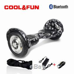 10 Bluetooth Skateboard Gyropode scooter électrique Self Balance overboard sac