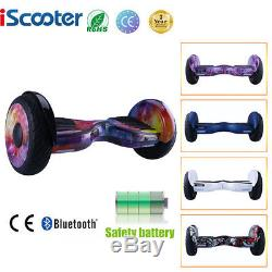 10 pouces Gyropode Bluetooth Scooter électrique Consei Iscooter 2017