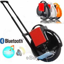 14 Electric Bluetooth Unicycle 1 Wheel Music Hoverboard Self Balancing Scooter