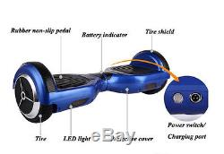 2 Roues Gyropode Skate Board Scooter Electrique Auto Equilibrage Monocycle Vélo