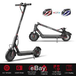 350W K9 Skateboard Kick-Scooter Trottinette Roller ÉLectrique Scooter Noir EU