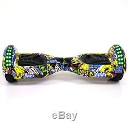 6.5Hoverboard Overboard Skate Scooter électrique Bluetooth+ Bag+Android Cable