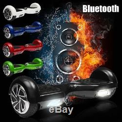 6.5'' 2 Roues Bluetooth Scooter Hover Board Auto Electrique Balance Monocycle