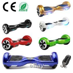 6,5 2 Roues Self Balance Board Balance Scooter Gyropode Skateboard électrique
