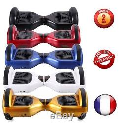 6.5 Gyropode Hoverboard Overboard Skate Scooter électrique Bluetooth Neuf