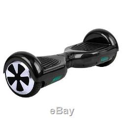 6,5 Noir 2 Roues Balance Board Balance Scooter électrique Hoverboard Skateboard