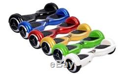 6 Gyropode Hoverboard Overboard Skate Scooter électrique Bluetooth Neuf