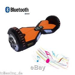Auto équilibrage 2 Roues Hover Board Skateboard Scooter électrique Bluetooth +
