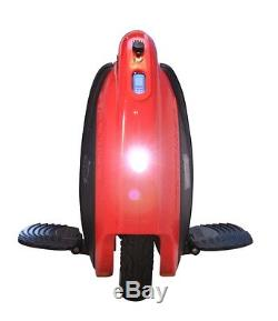 Electric Monocycle 528wh 50km FireWheel F528 16 wheel double mode Red