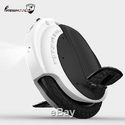 Electric monocycle (electrique) FireWheel R5 260wh 16 Wheel unicycle White