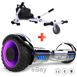 Gyropode 6.5 Scooter Overboard Roue Clignotante Bluetooth avec Hoverkart