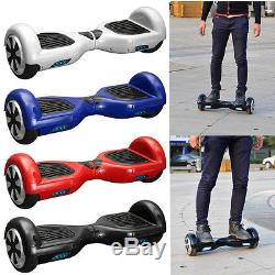 Gyropode Skate Board Véhicule Léger Scooter Electrique Equilibrage Monocycle Red