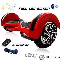 Gyropode Skate Electrique Scooter Self Balancing 8 Bluetooth Auto-équilibrage