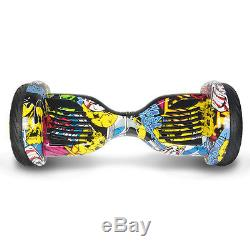 Gyropode overboard skateboard Scooter électrique Hip 10 pouces neuf Bluetooth