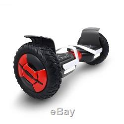 Hoverboard 4x4 Thunder Rouge Bluetooth Musique 10 Pouces Neuf