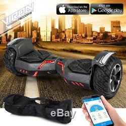 Hoverboard overboard 800W carbon tout-terrain Viron Motors REF 1031006200carbon