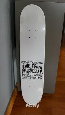 James Jarvis Amos Heroin Skateboard Live from Antarctica New Limited Kaws Silas