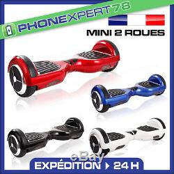 MINI 2 ROUES GYROPODE SCOOTER SKATE ELECTRIQUE MONOCYCLE BALANCE BOARD