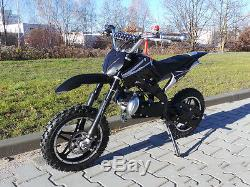 Mini moto cross enfant enduro noir Viron Motors REF 1020558975