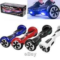 NEW 6.5 Smart Self Balancing Electric Unicycle Scooter 2 wheels, Balance Car