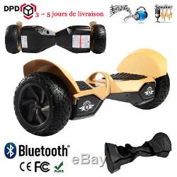 Nouveau 8.5 Hoverboard Self balancing Gyropode BLUETOOTH électrique scooter