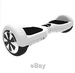 Overboard Scooter Skateboard 2 roues électrique Blanc White