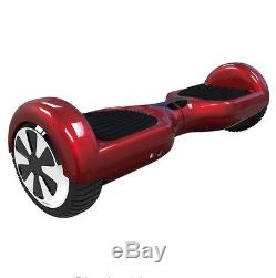Overboard Scooter Skateboard 2 roues électrique Rouge Red