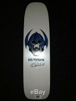 Powell Peralta per welinder Nordic Skull Freestyle réédition Skateboard Deck