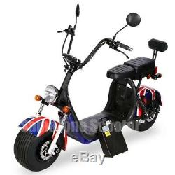 Scooter 2000w 60v 20ah garantie 1 ans connection bluetooth 2 places