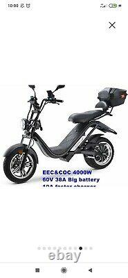 Scooter City Coco 4000 Watts