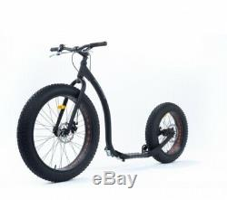 Scooter Scooter Scooter Original Kickbike 26/20 Fatmax Noir Dogscooter