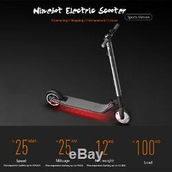 Scooter électrique E-Scooter Collapsible Shockproof LED Headlight 25km/h 700W FR