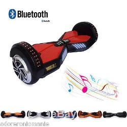 Smart Scooter électrique 2 Roues Hoverboard Equilibrage 4400mAh Samsung Batterie