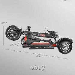 YOUPING Q02 Folding Electric Scooter 500W Motor 48V/15Ah Battery 10 Inch
